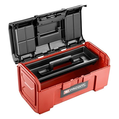 Facom One Touch Plastic Tool Box, 481 x 237 x 271mm