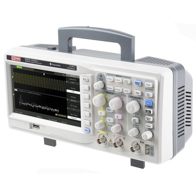 RS PRO RSDS 1052 DL + Bench Digital Storage Oscilloscope, 50MHz, 2 Channels