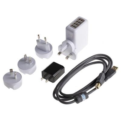 RS PRO RSDPB5150 Oscilloscope Probe, Probe Type: Differential, High Voltage 70MHz 1.5kV 1:50, 1:500