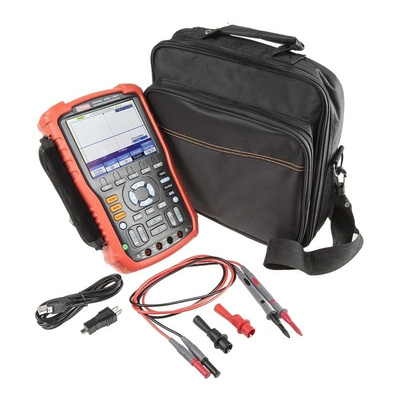 RS PRO RSHS806 Handheld Digital Storage Oscilloscope, 60MHz, 2 Channels With RS Calibration