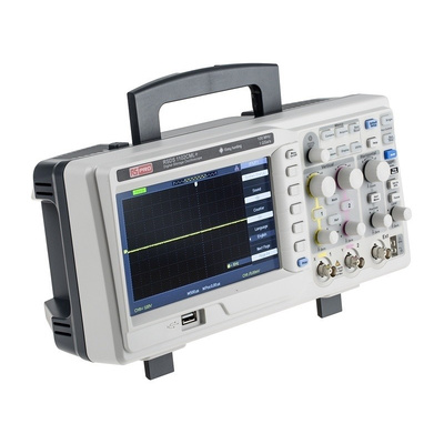 RS PRO RSDS1102CML+ Portable Digital Storage Oscilloscope, 100MHz, 2 Channels With UKAS Calibration